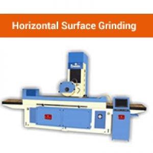 Horizonal surface grinding machine